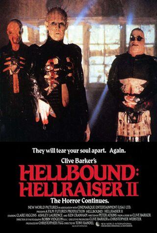 Hellbound: Hellraiser II (1988) Main Poster
