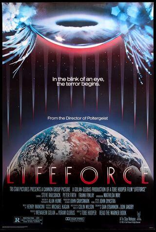 Lifeforce (1985) Main Poster