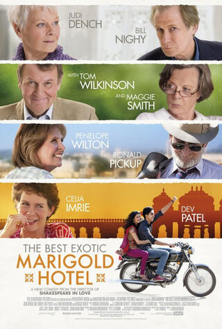 The Best Exotic Marigold Hotel (2012) Main Poster