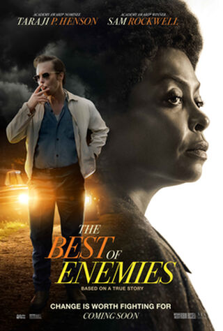 The Best Of Enemies (2019) Main Poster