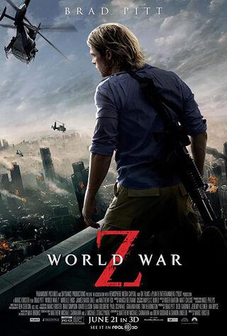 World War Z (2013) Main Poster