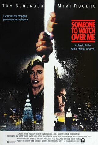 Someone To Watch Over Me (1987) Main Poster