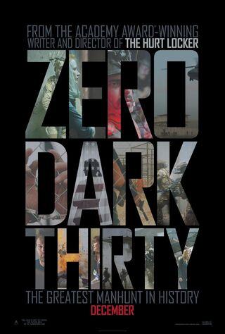 Zero Dark Thirty (2013) Main Poster