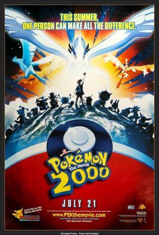 Pokémon: The Movie 2000 (2000) Main Poster