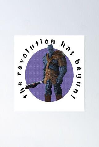 The Revolution Has Begun (2013) Main Poster