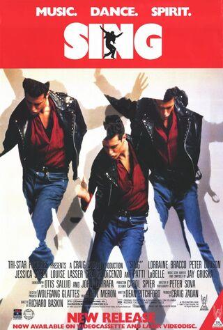 Sing (1989) Main Poster