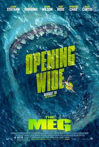 The Meg (2018) Main Poster