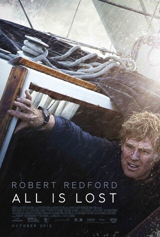 All Is Lost (2013) Main Poster