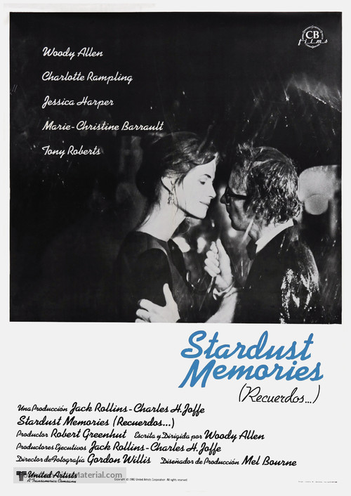 Stardust Memories (1980) Main Poster