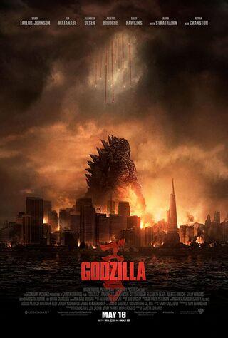 Godzilla (2014) Main Poster