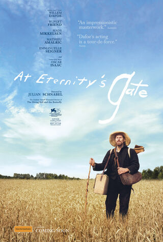 At Eternity's Gate (2019) Main Poster