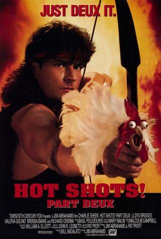 Hot Shots! Part Deux (1993) Main Poster
