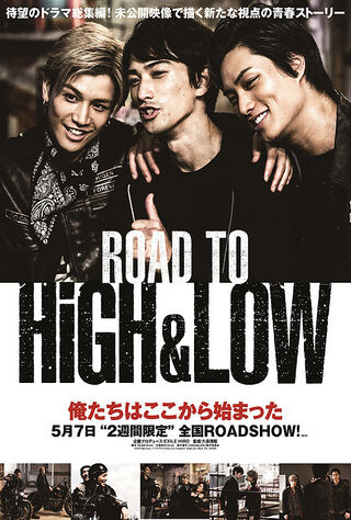 High & Low: The Movie 2 - End Of Sky (2017) Main Poster