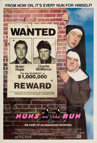 Nuns On The Run (1990) Main Poster