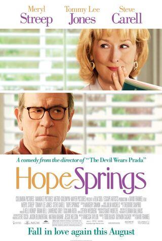 Hope Springs (2012) Main Poster