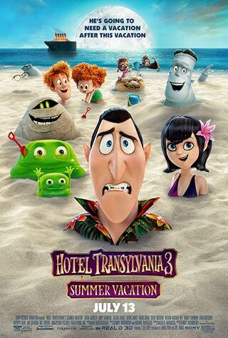 Hotel Transylvania 3: Summer Vacation (2018) Main Poster