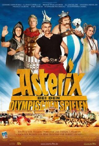 Asterix At The Olympic Games (2008) Main Poster