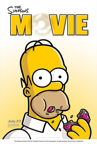 The Simpsons Movie (2007) Main Poster