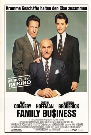 Family Business (1989) Main Poster