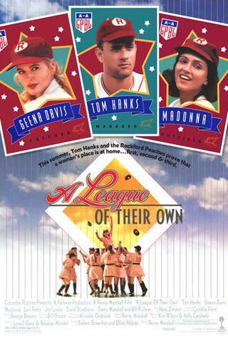 A League Of Their Own (1992) Main Poster