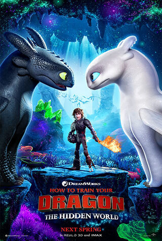 How To Train Your Dragon: The Hidden World (2019) Main Poster