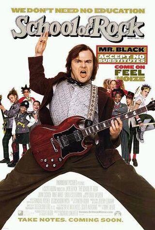 School Of Rock (2003) Main Poster