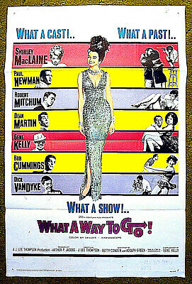 What A Way To Go! (1964) Main Poster