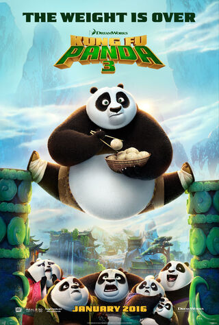 Kung Fu Panda 3 (2016) Main Poster