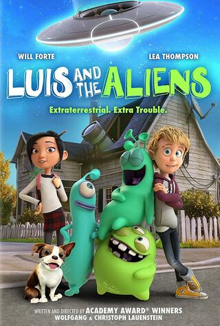 Luis And The Aliens (2018) Main Poster