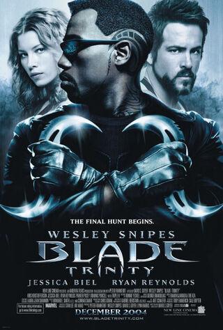 Blade: Trinity (2004) Main Poster