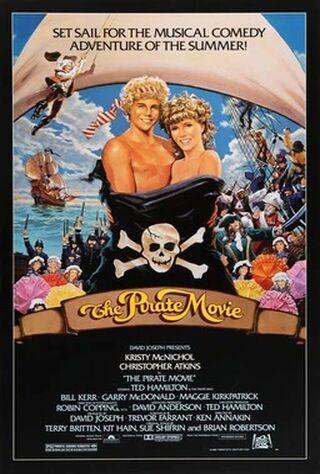 The Pirate Movie (1982) Main Poster