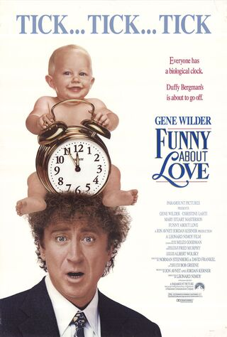 Funny About Love (1990) Main Poster