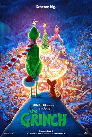 The Grinch (2018) Main Poster