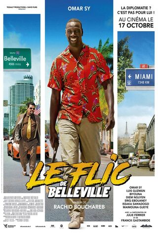 Belleville Cop (2018) Main Poster