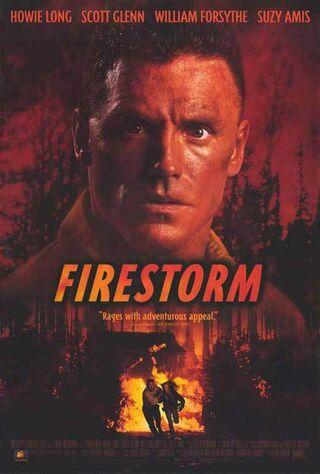 Firestorm (1998) Main Poster