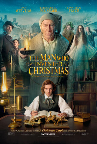 The Man Who Invented Christmas (2017) Main Poster