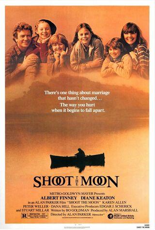 Shoot The Moon (1982) Main Poster