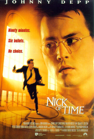 Nick Of Time (1995) Main Poster