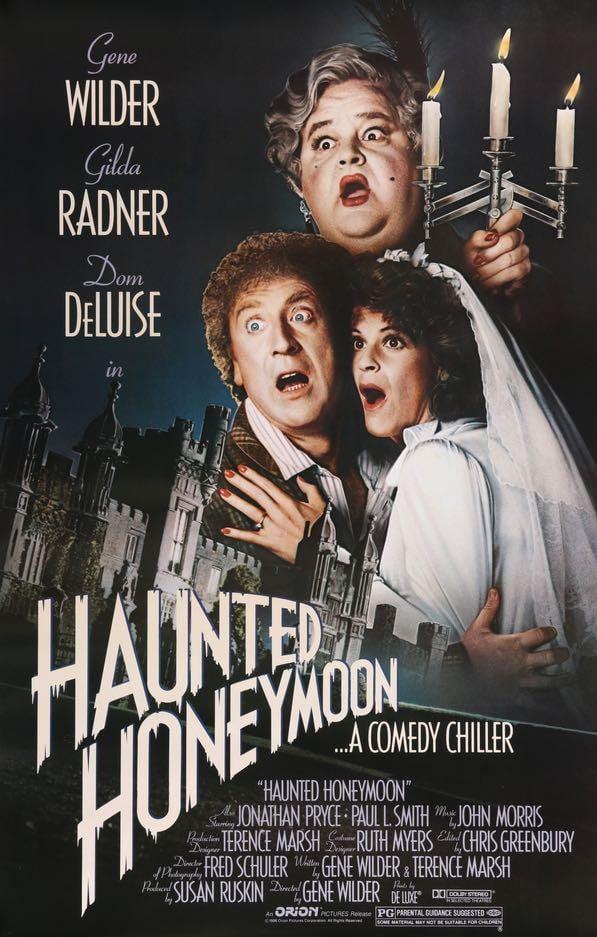 Haunted Honeymoon (1986) Main Poster