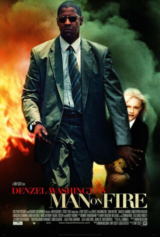 Man On Fire (2004) Main Poster