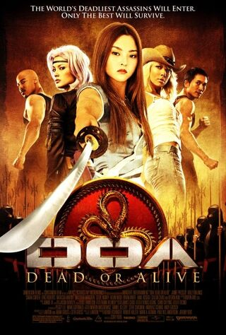 DOA: Dead Or Alive (2007) Main Poster