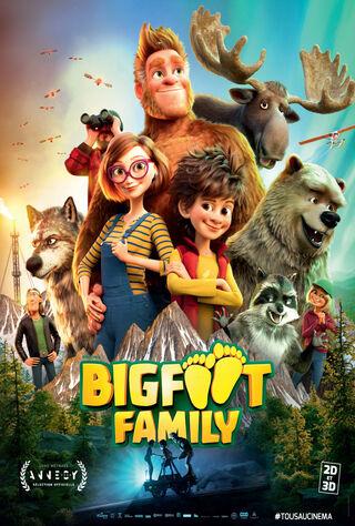 Bigfoot Family (2020) Main Poster