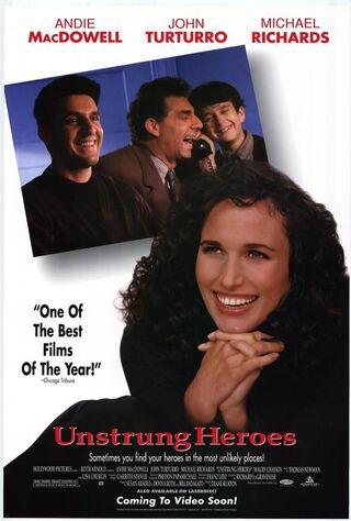 Unstrung Heroes (1995) Main Poster