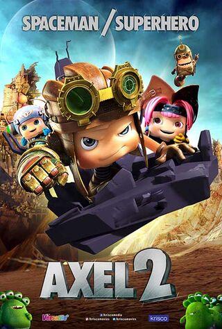 Axel 2: Adventures Of The Spacekids (0) Main Poster
