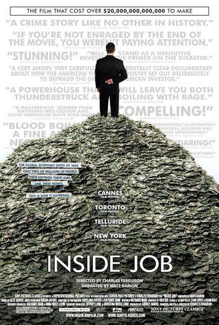 Inside Job (2010) Main Poster
