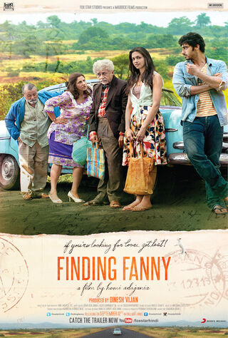 Finding Fanny (2014) Main Poster