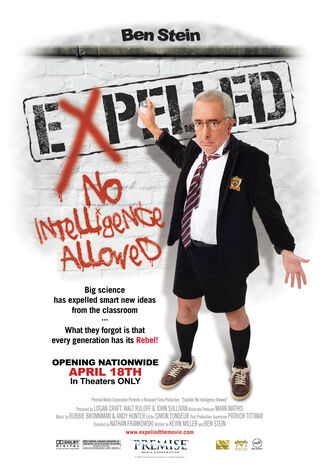 Expelled: No Intelligence Allowed (2008) Main Poster