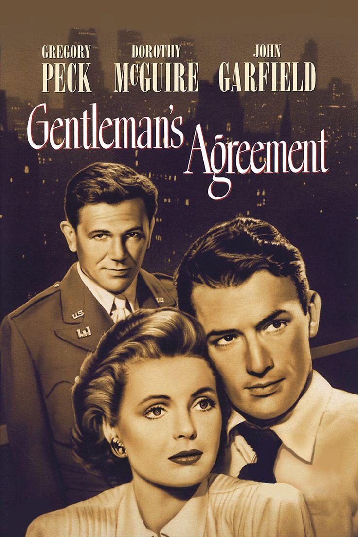 Gentleman's Agreement (1948) Main Poster