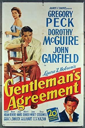 Gentleman's Agreement (1948) Poster #4