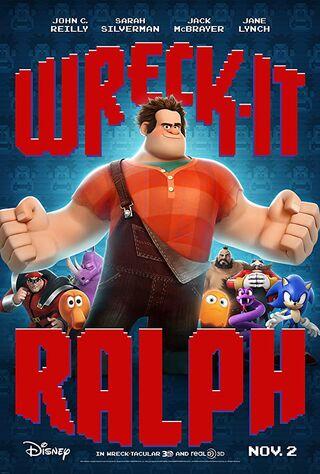 Wreck-It Ralph (2012) Main Poster
